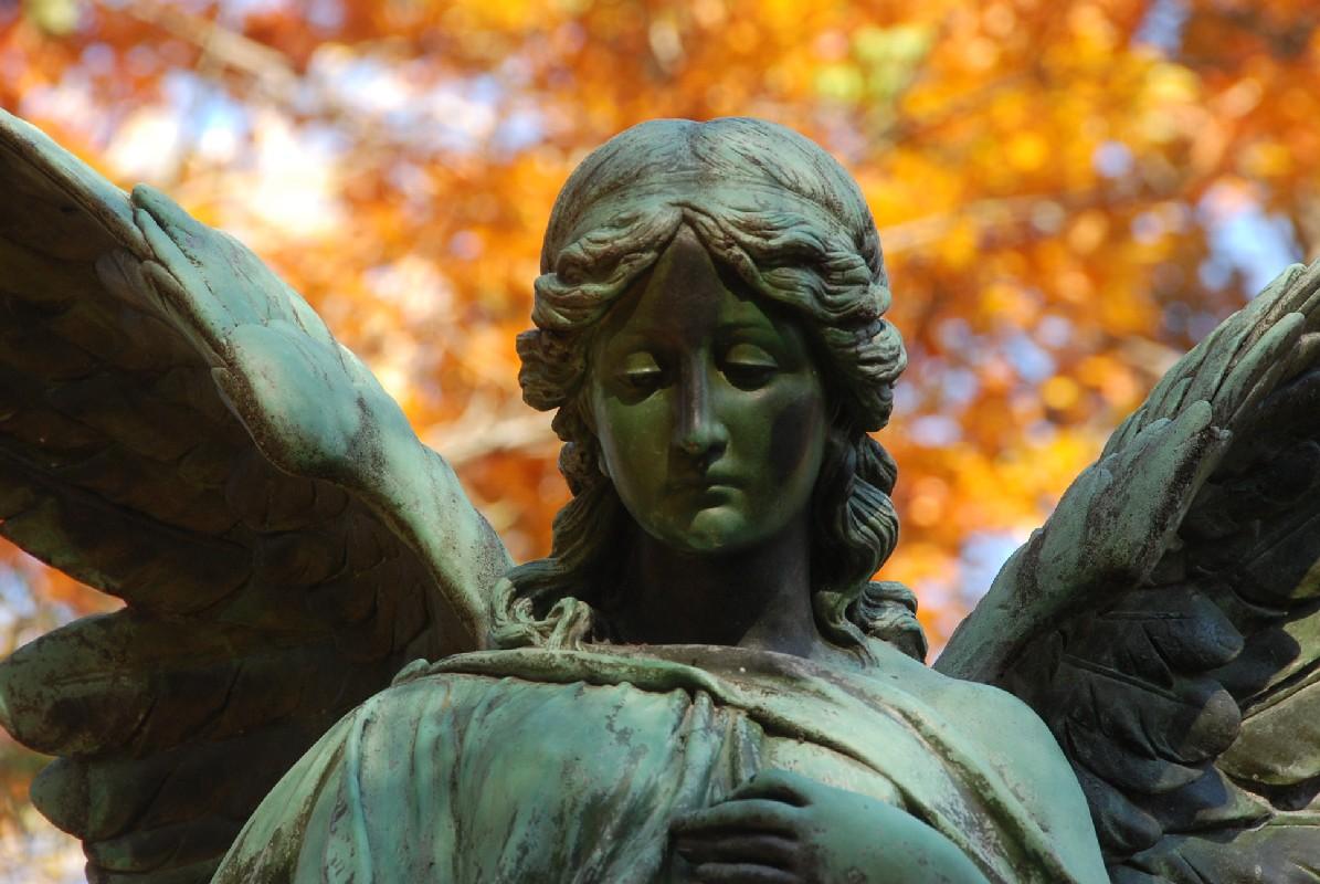 Ein Engel passt auf