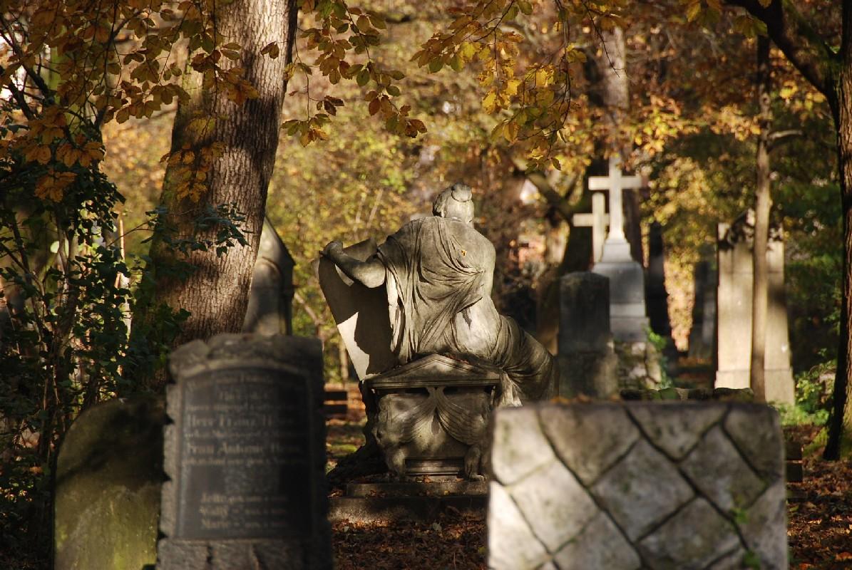 Friedhof in München